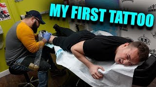 MY FIRST TIME GETTING A TATTOO *5 MILL SUBSCRIBER SPECIAL*