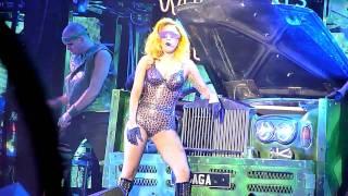 Lady Gaga - Just Dance [The Monster Ball @ Malmö Arena, 19/11, 2010] HD