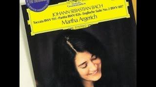 Johann Sebastian Bach, Toccata BWV 911, Martha Argerich, 1979