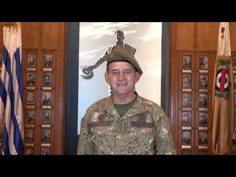 Saludo del Sr. Comandante en Jefe del Ejército