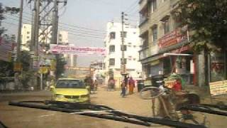 preview picture of video 'Bangladesh Dhaka trafic 1 of 3'