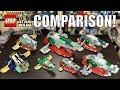LEGO Star Wars Slave 1 Comparison! | 7144, 7153, 6209, 8097, 75060, 75243