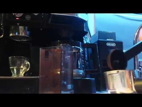 delonghi bco410 espresso shot (kg79 grinder modded)