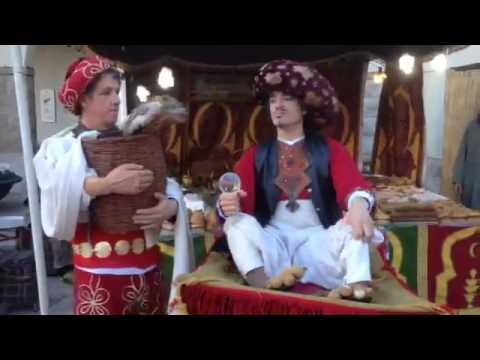 Viborum Medieval: El encantador de serpientes y el genio de la alfombra