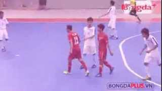 Sea Games 27: Futsal man Viet Nam vs Lao