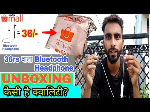 36rs Vala Bluetooth Headphone Delivered, Unboxing And Review