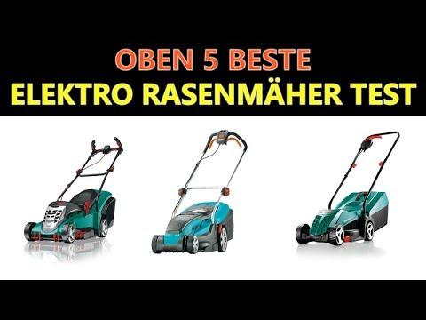 Beste Elektro Rasenmäher Test 2018