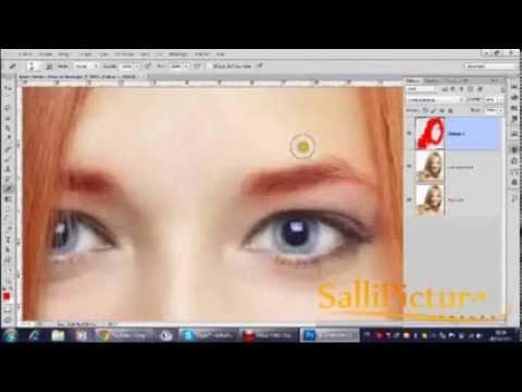 comment colorier les yeux avec photoshop