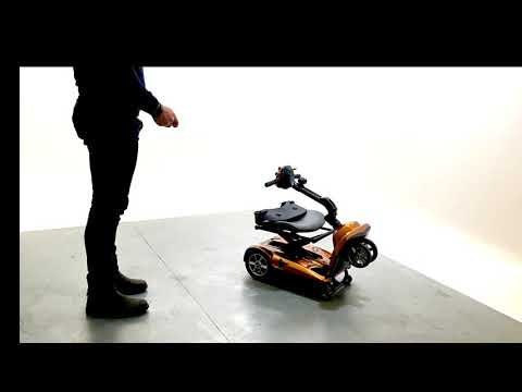 Drive Dual-Wheel Auto Folding Lightweight Compact Mobility Scooter Lithium