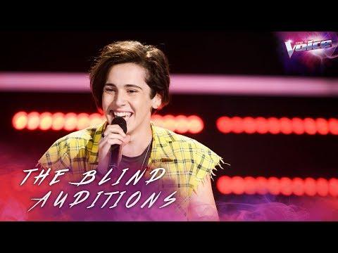 Blind Audition: Aydan Calafiore sings Despacito | The Voice Australia 2018