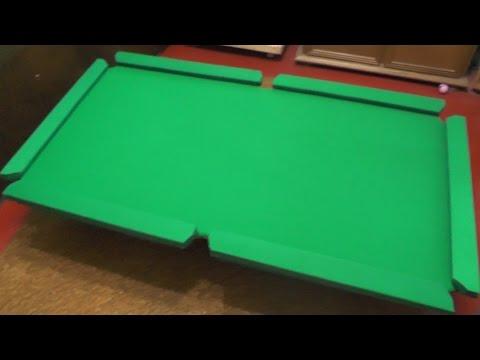 Как сделать Бильярдный стол своими руками. (Часть 1 мини бильярд) Как сделать бильярд.