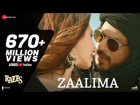 Download Zaalima | Raees | Shah Rukh Khan & Mahira Khan | Arijit Singh & Harshdeep Kaur | JAM8 HD Video