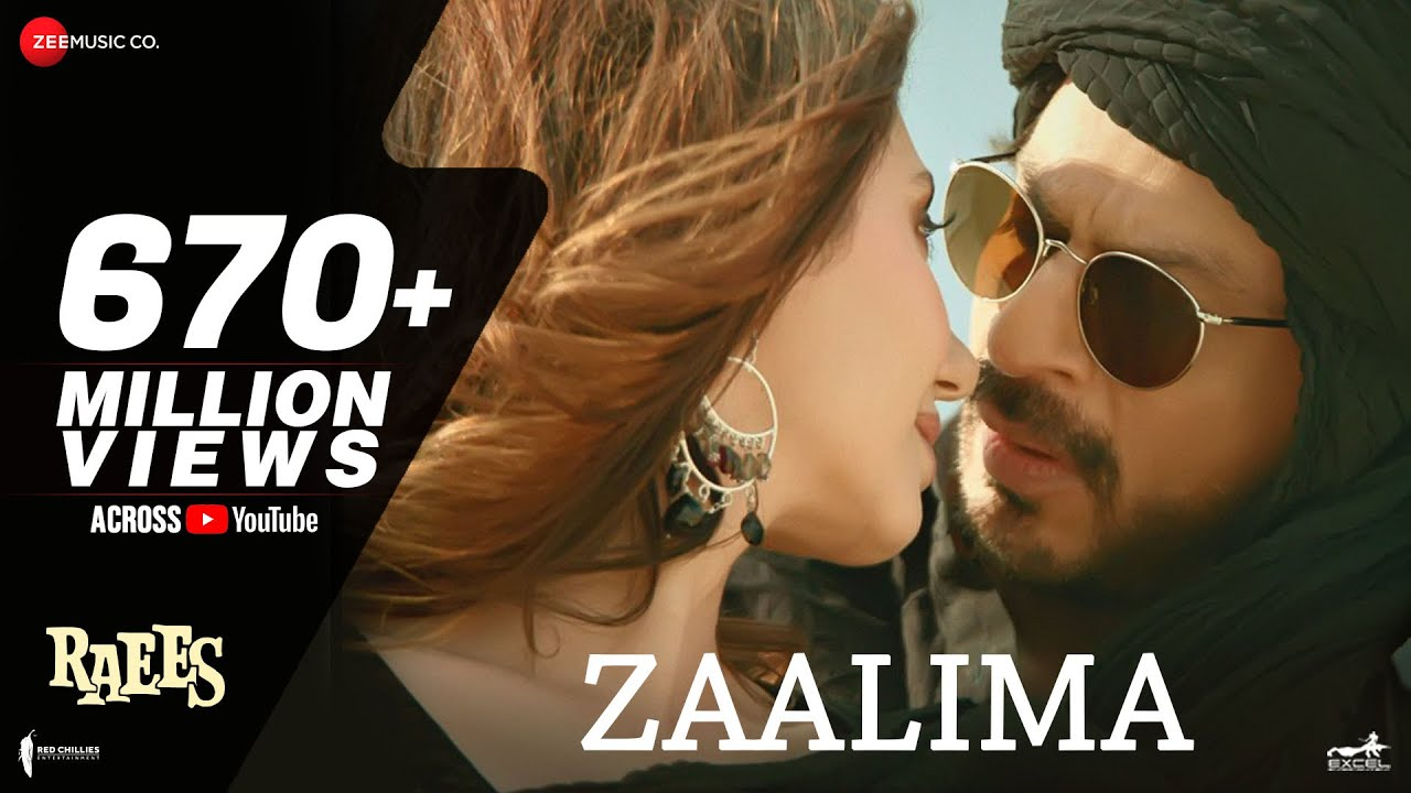 Zaalima Lyrics - Raees Movie Lyrics