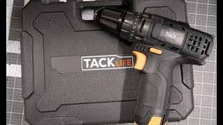 TackLife 12v Drill Test