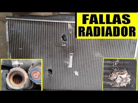 FALLAS MAS COMUNES DEL RADIADOR de auto