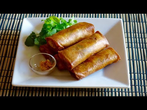 Harumaki (Egg Roll) Recipe – Japanese Cooking 101