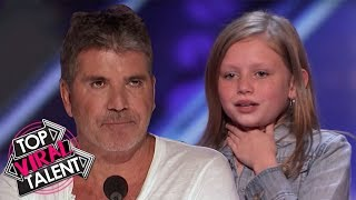 12 Y.O. Girl SHOCKS EVERYONE With Her Voice!