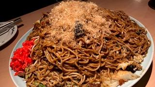 【大食い】約6キロ ジャンボ焼きそば【チャレンジ】