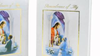 First Communion Remembrace Photo Album for Boy and Girl