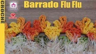 Barrado Flu Flu em crochê - Professora Simone