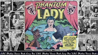"Phantom lady: ""The Mystery of the Opers House Robberies"", Police Comics #16"
