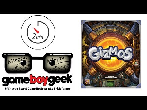 Gizmos Allegro (2-min) Review with the Game Boy Geek