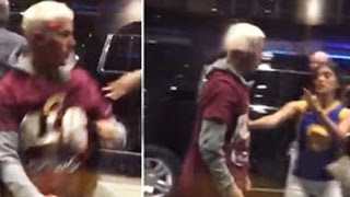 Justin Bieber Gets In Epic Street Fight: Concerned Fans Try To Pull Him Away