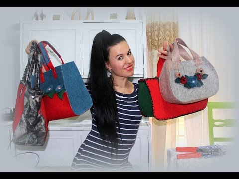 Borse Fai Da Te / ecco le mie borse fatte a mano/ My handmade bags