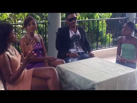 Ophelia Dzidzornu's first interview together with two great celebrities.