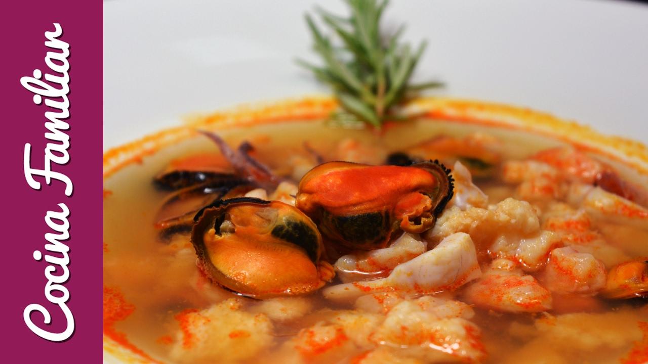 Sopa de pescado y marisco | Javier Romero Cap. 25 Temporada 1
