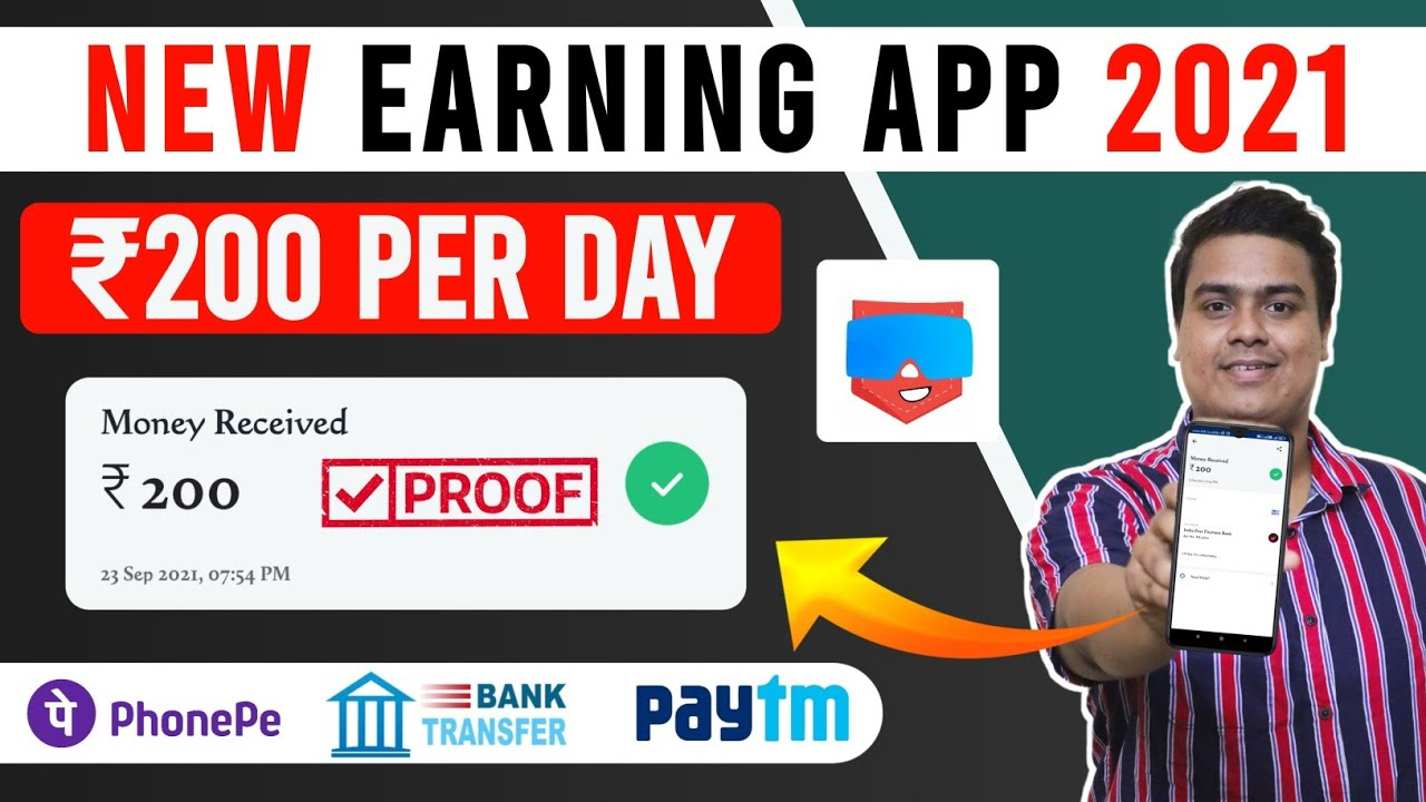 New Earning App Today|Make Money Online|Make Daily Free Paytm Money Without Financial Investment| thumbnail