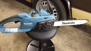 Tool Review - Makita UC3541A chainsaw.