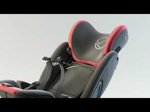 Jané Groowy - the first i-Size car seat from birth (40cm) up to 150 cm