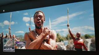"""BLACK PANTHER 4K UHD Bluray : BenQ 4K HDR Projector 155"""" Inch HDR Analysis"""