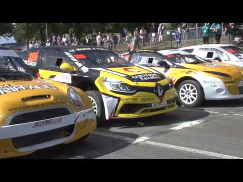 Kerlabo Rallycross : onboard with David Vincent...