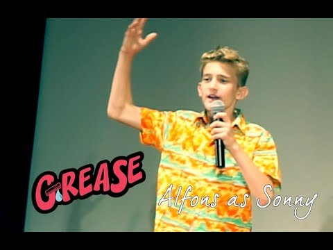 Grease Musical Interview with Alfons as Sonny