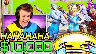 Stream Sniping Lachlan's $10,000 Fashion Show World Cup Qualifier... (Fortnite Battle Royale)