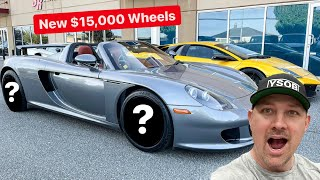 NEW PORSCHE CARRERA GT WHEELS AND FAST & FURIOUS 9 EXCLUSIVE!