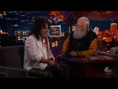 Guest Host Dave Grohl Interviews Alice Cooper