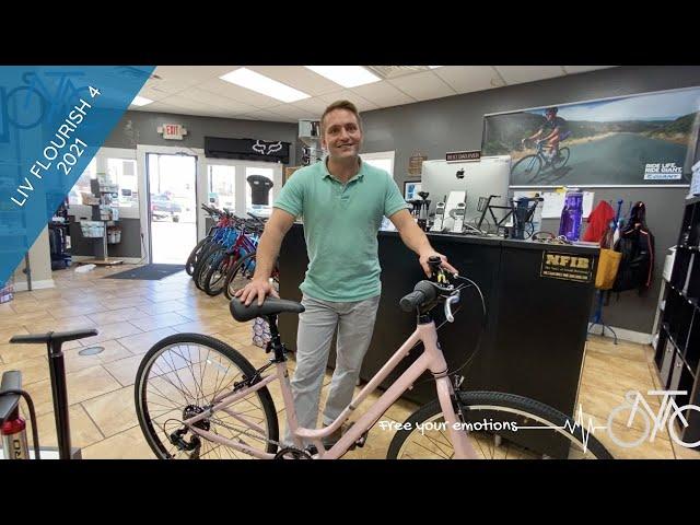 Видео Велосипед Liv Flourish 4 Pale Mauve