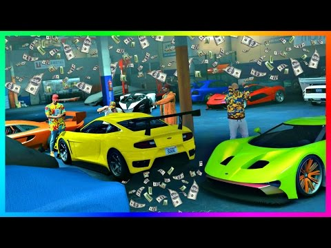 GTA ONLINE IMPORT/EXPORT DLC $10,000,000 MONEY MAKING SELLING RARE CAR COLLECTIONS & VEHICLE HEISTS!