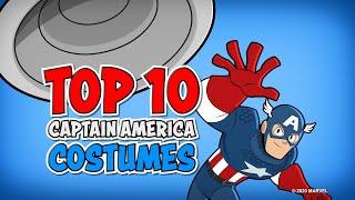Captain America's Best Costumes!