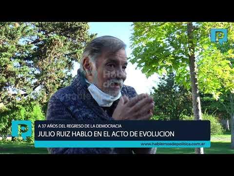 ACTO DE EVOLUCION UCR A 37 AÑOS DEL REGRESO DE LA DEMOCRACIA