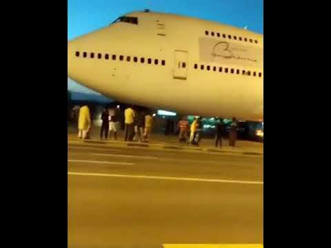 Bahrain Airplane Causes Mayhem in Fujairah