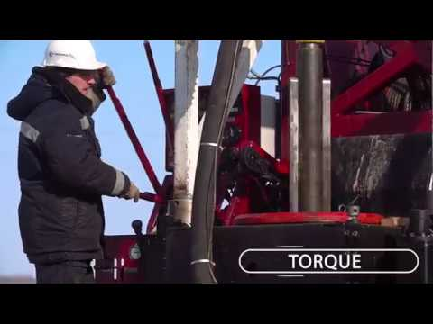 URB-40 rotary drilling rig