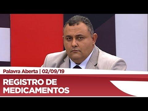 Márcio Labre fala sobre registro de novos medicamentos