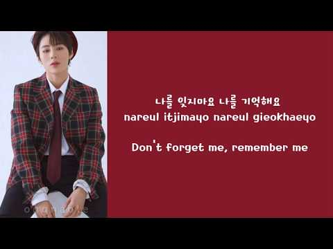 하성운 (HA SUNG WOON) - 잊지마요 (DON'T FORGET) FT. 박지훈 (PARK JI HOON) Color-Coded Lyrics (HAN/ROM/ENG)