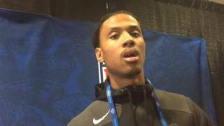 Kevin King on visit with Eagles