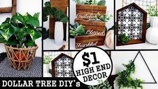 5 NEW DIYs HOME DECOR 2020 | HGH END DOLLAR TREE DIY | Anthropologie & West Elm Inspired