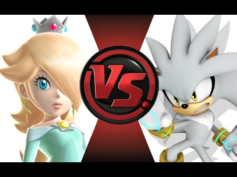 ROSALINA vs SILVER! FINAL FACE-OFF! Cartoon Fight Club Episode 24